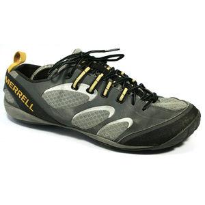 Merrell Mens True Glove Gray Sneakers Size 11.5
